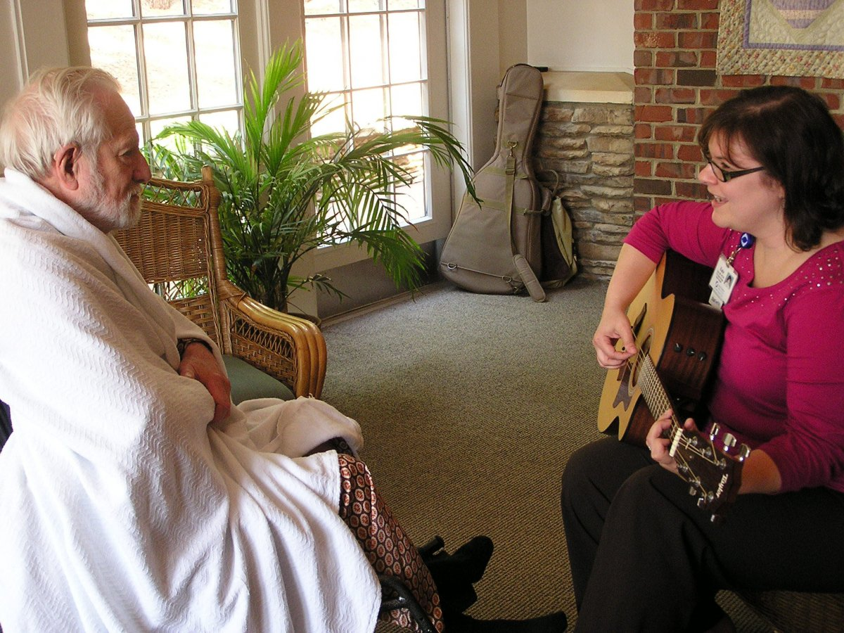 Music Therapy at Hospice