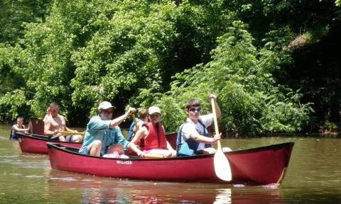 dan river paddle run